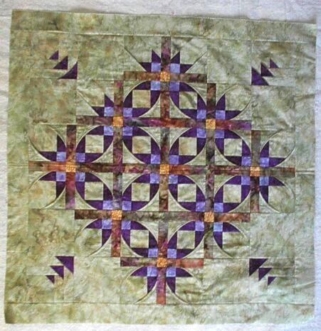 Folded Star Quilt Block http://pstoattern.com/folded-star-quilt-pattern/